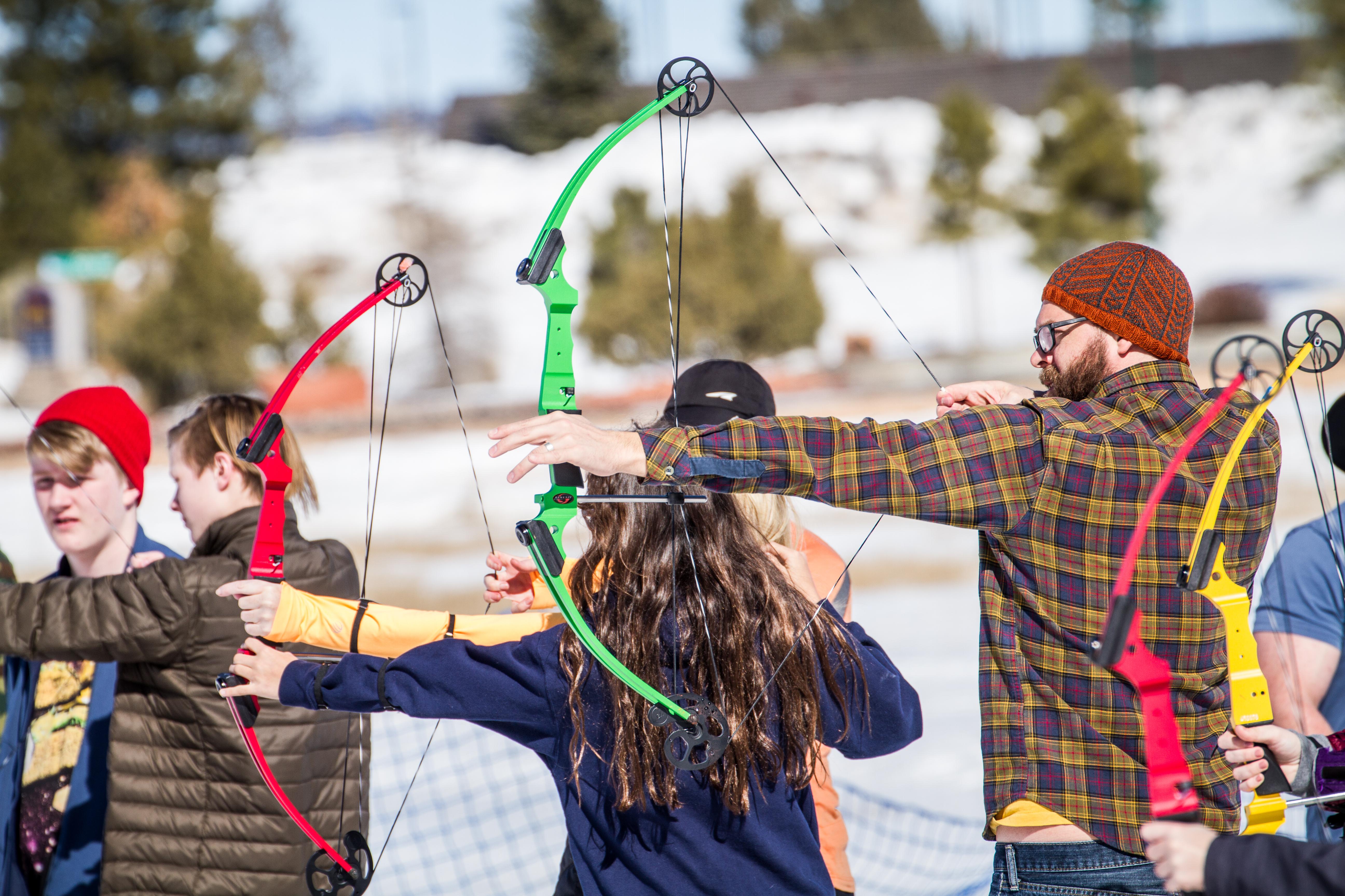 Bryce Canyon Winter Festival Archery Clinic