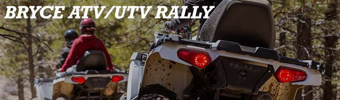 Bryce ATV/UTV rally