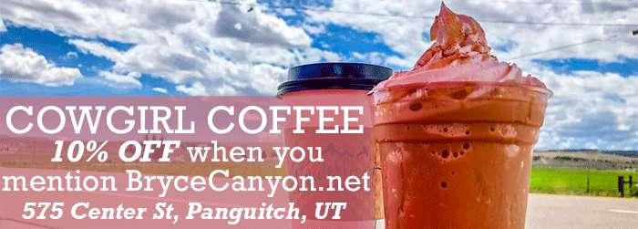 Cowgirl Coffee at Garfield County Fair in Utah